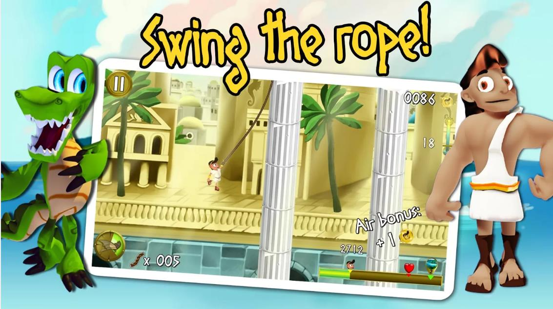 Rope Escape Atlantis