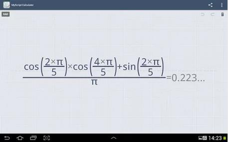 MyScript Calculator