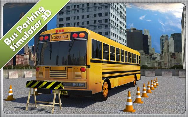 Bus Parking Simulator 3D - Парковка автобусов