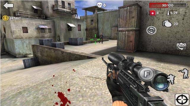 Gun Strike Shooting War 3D