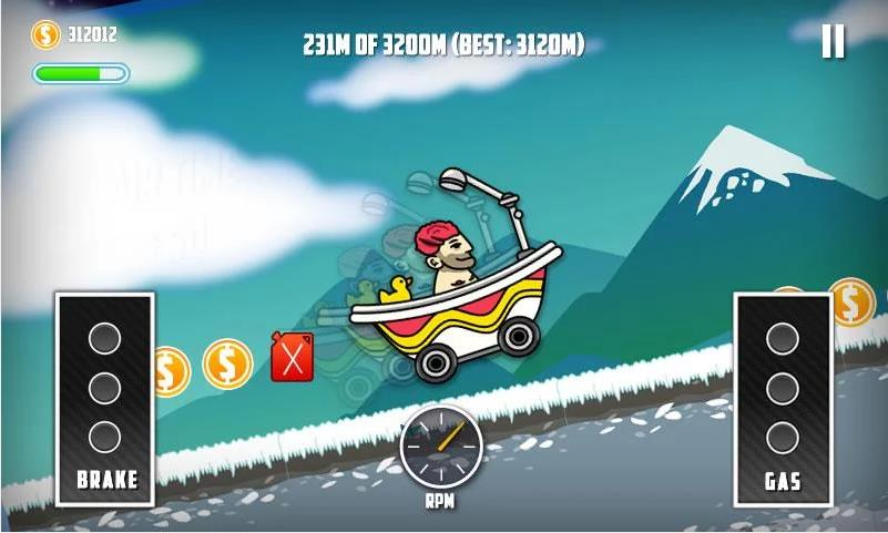 Mountain Climb Race 2 для Android