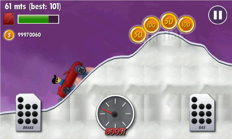 Mountain Climb Racer на Андроид
