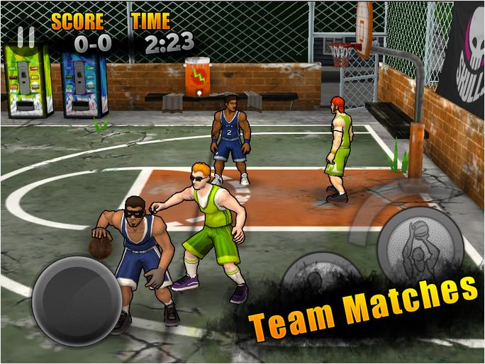 Jam City Basketball на Андроид