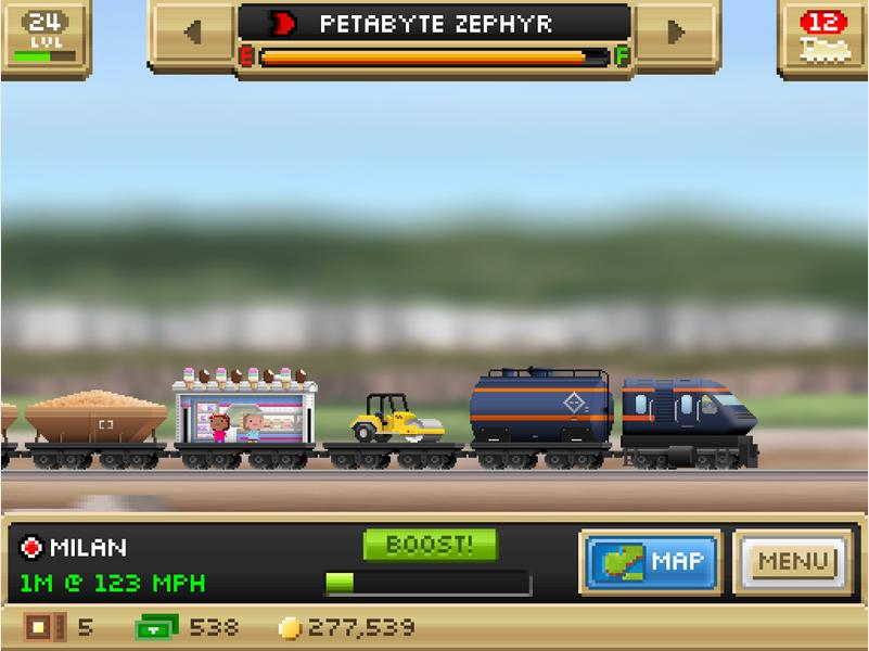 Pocket Trains на Андроид