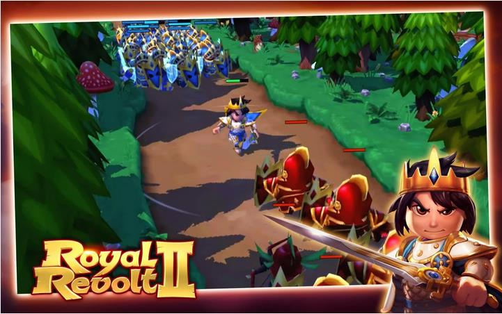 Royal revolt 2 играть - фото 3