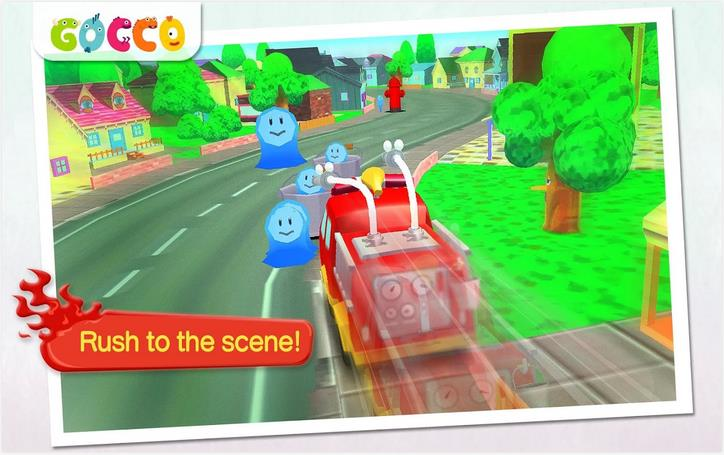 Gocco Fire Truck: 3D Kids Game