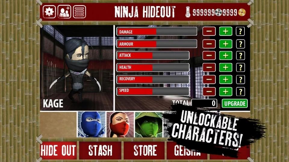 Finger Ninjas: Zombie Strike-Force для Android