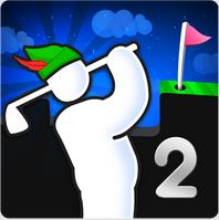 Super Stickman Golf 2 — гольф на Андроид