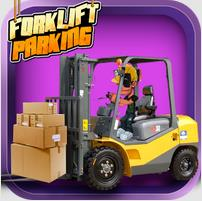 Forklift Parking — 3D погрузчик