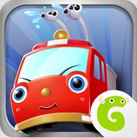 Gocco Fire Truck: 3D Kids Game — пожарники