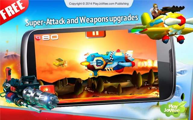 Big Air War Shooter Scroller