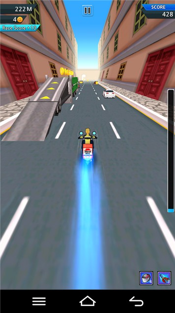 Burst Rider (Moto Racing Game)