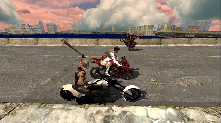 Race Stunt Fight 3