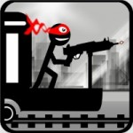 Скачать Stickman Train Shooting игра для Android