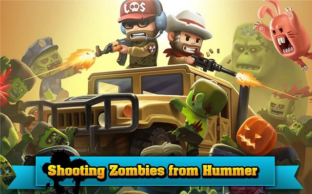 Action of Mayday: Zombie World