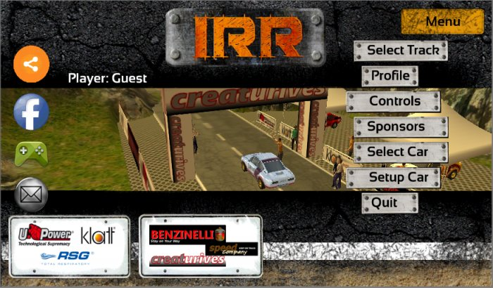 International Rally Car Race