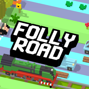 Folly Road Crossy — аркада