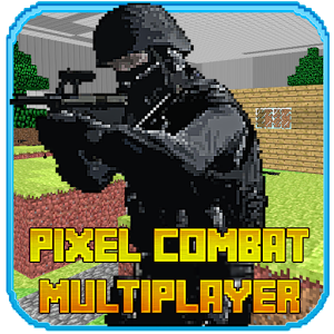 Pixel Combat Muitiplayer HD — CS в стиле minecraft!