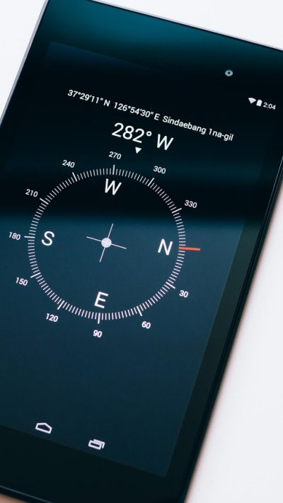 Digital Compass for travelers