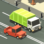 Скачать Blocky Traffic Racer для Android Бесплатно