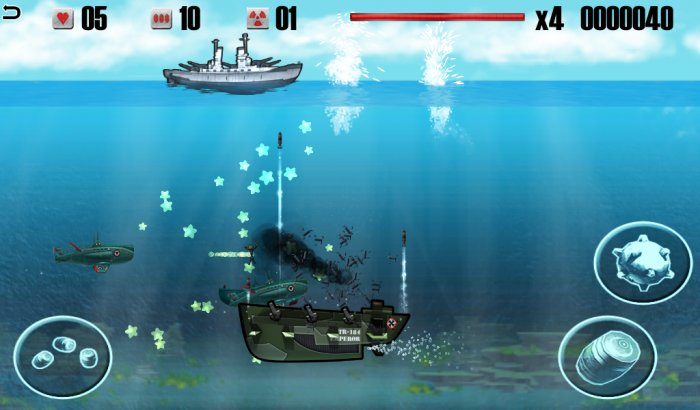 Battleship VS Submarine