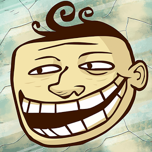 Troll Face Quest Unlucky — головоломка