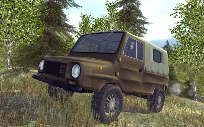 4x4 SUVs Russian Off-Road 2