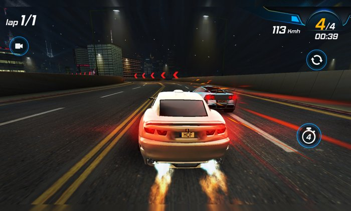 Car Racing 3D: High on Fuel