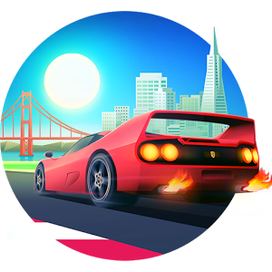 Horizon Chase — World Tour — ретро гонки