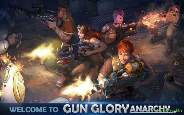 Gun Glory: Anarchy Real Time