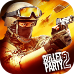 Скачать Bullet Party CS 2 : GO STRIKE для Android Бесплатно