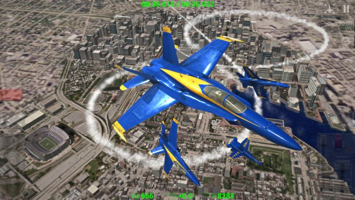 Blue Angels - Aerobatic SIM