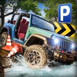 Скачать гонки 4x4 Offroad Parking Simulator на Андроид