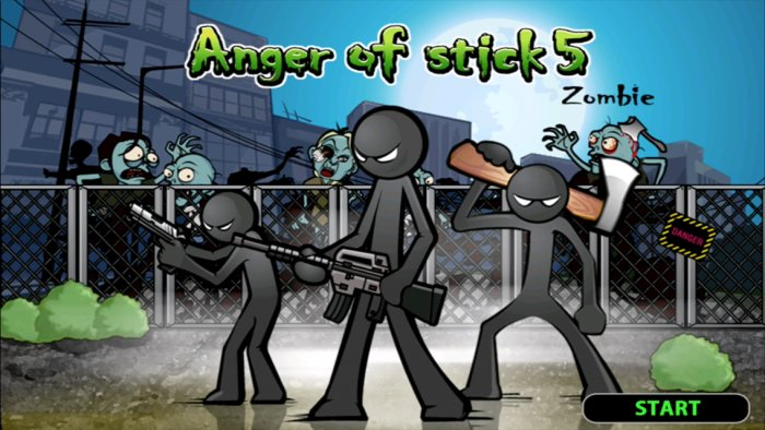 Anger of Stick 5 ( action )