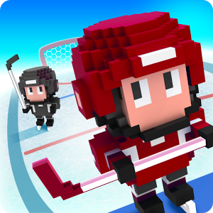 Blocky Hockey — Ice Runner – станьте хоккейным бегуном