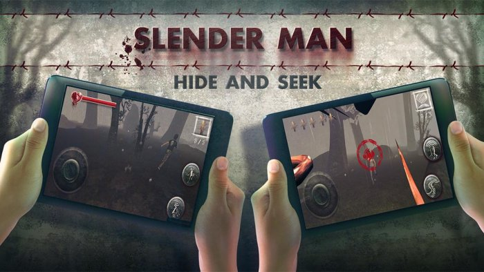 Slender Man Hide & Seek
