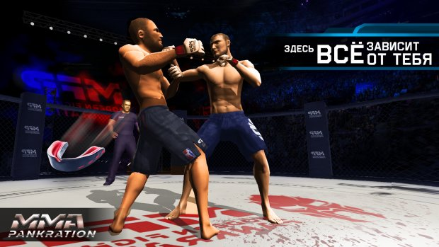 Обзор игры MMA Fighting Clash [Android] - YouTube