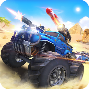 Overload: Multiplayer Battle Car Shooting Game — экшен гонки