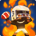 Blocky BEASTMODE® Football – раннер