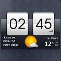 Sense Flip Clock & Weather для Android – Красивые часы и погода в одном виджете