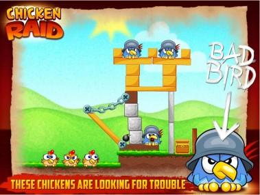 Chicken Raid для Android
