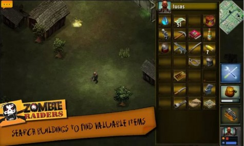 Zombie Raiders для Android
