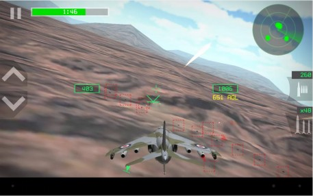 Strike Fighters Attack для Android - 3D Самолеты