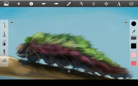 SketchBook - Лучшая рисовалка для android