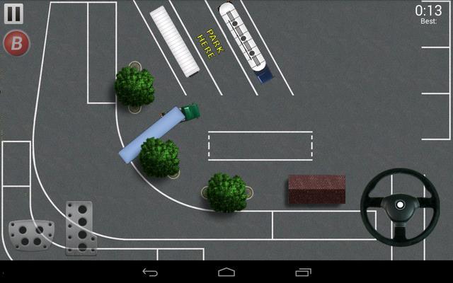Парковка грузовиков