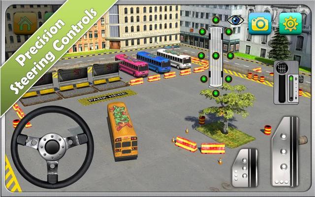 Bus Parking Simulator 3D - Парковка автобусов