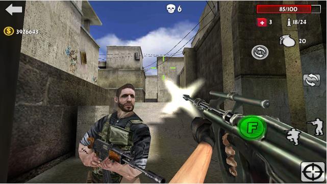 Gun Strike Shooting War 3D