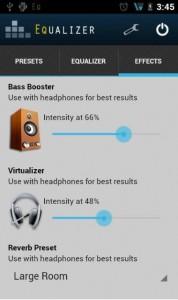 Лучший эквалайзер для Android
