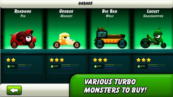 Monsters Climb Race: hill race