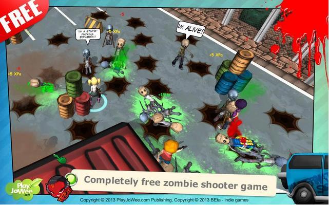 Hot Zomb: Зомби Выживание